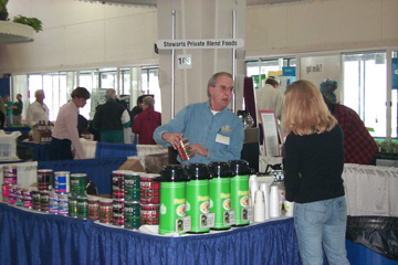 {Stewarts Foods at the 2000 Expo.}