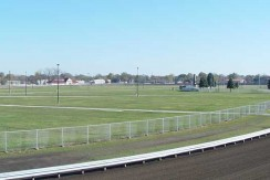 Infield, One Mile Track