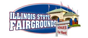 Illinois State Fairgrounds, venues for rent