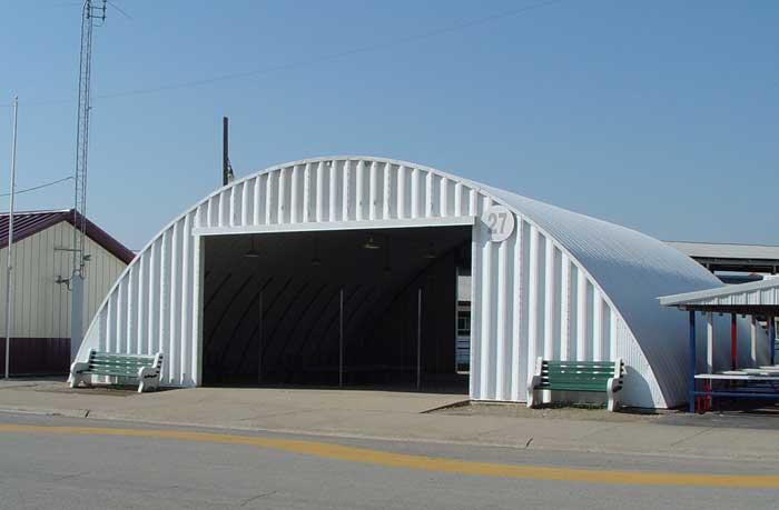 Quonset Hut Illinois State Fairgrounds